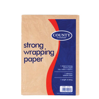 Strong Wrapping Paper Set