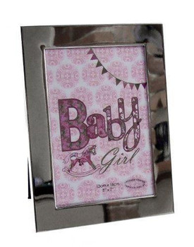 Pink Laura Darrington Baby Girl  Photo Frame