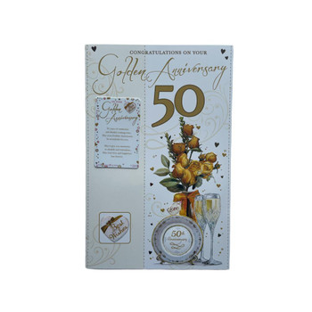 Congratulations On Your Golden Anniversary Card