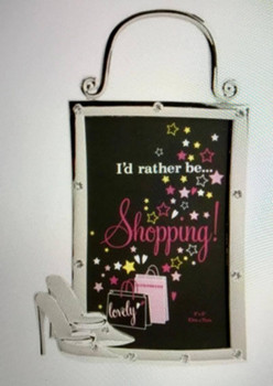 I'd Rather Be Shopping Photo Frame