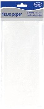 White Acid Free Tissue Paper 10 Sheets