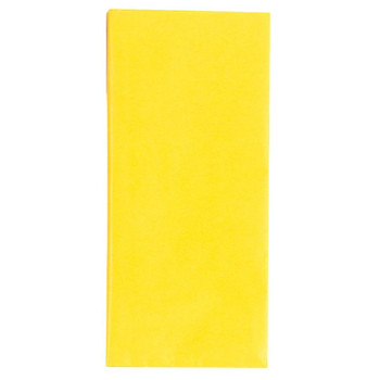 Crepe Paper Yellow 1.5m x 50cm Sheet Art Craft Florists Gift Wrap Coloured Party