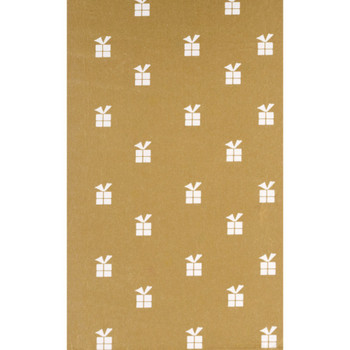 Gold Presents Tissue Paper 5 Sheets