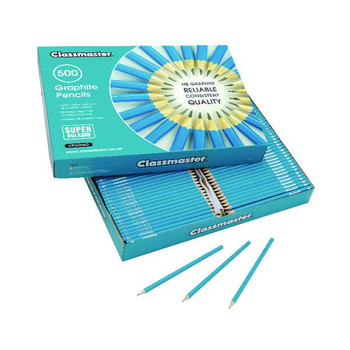 Pack of 500 Classmaster HB Pencils