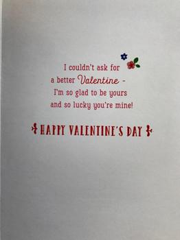 My Girlfriend Heartfelt Adorable Two Animated Teddy Elephants Valentine's Day Card