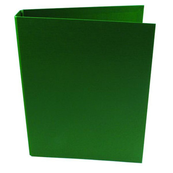 Pack of 10 A4 Green 25mm Polypropylene 2 Ring Binders