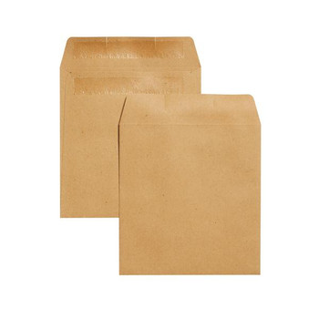 Pack of 1000 Wage Envelopes 108x102mm Plain Self Seal 90gsm Manilla