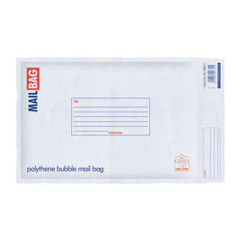 Pack of 10 Medium Polythene Bubble Mail Bags
