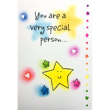 You Are A Very Special Person Greeting Card