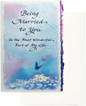"""'Being Married To You Is.....' Perfect Anniversary, Valentine's Day, or """"I Love You"""" Card"""