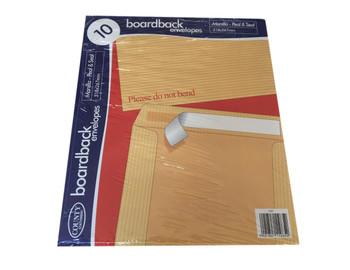 Pack of 10 318x267mm Board Back Envelopes
