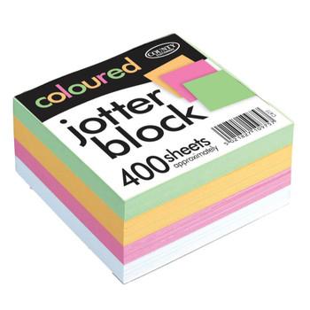 Coloured Jotter Black 400 sheets