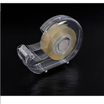Clear Transparent Tape with Dispenser 18mm x 33m