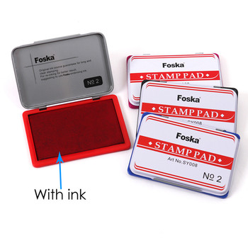 Blue Ink Stamp Pad 122x48mm