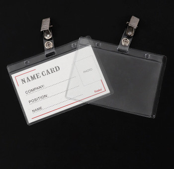 Box of 100 Name Badges -110x80mm
