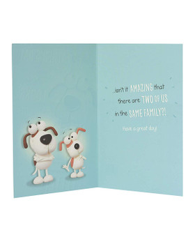 Anyone Father's Day Card Intelligence and Good Looks