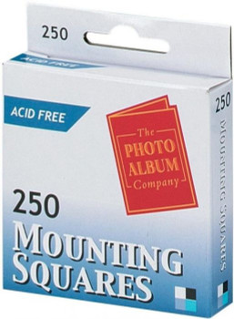 250 Photo Mounts Acid Free Mounting Squares (The Photo Album Company)