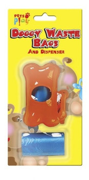Doggy Waste Bags and Dispenser