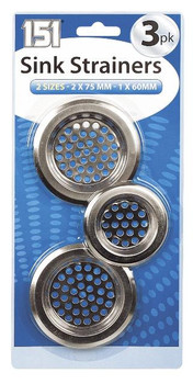 3 Pack Sink Strainers