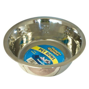 Large 21cm Stainless Steel Pet Bowl