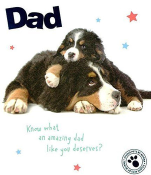 Amazing Dad Father's Day Card Studio Pets Greeting Cards