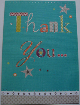 Thank you So Much Greetings Card