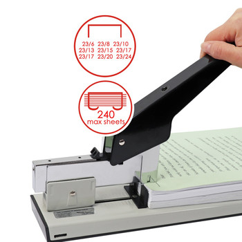 Heavy Duty Metal Stapler (Staples up to 240 sheets)