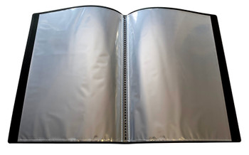 A4 Black Flexible Cover 10 Pocket Display Book