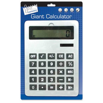 Just Stationery 210x295mm A4 Giant Calculator