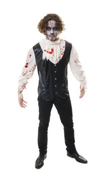 Adult Bloody Shirt Fancy Dress Up Costume
