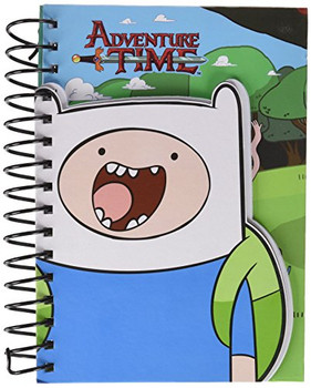 Adventure Time Die Cut Ring Bound A5 Notebook