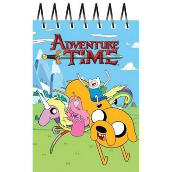 Adventure Time A6 Novelty Notebook