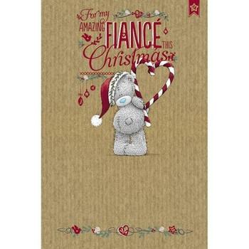 Amazing Fiance Me to You Bear Christmas Card