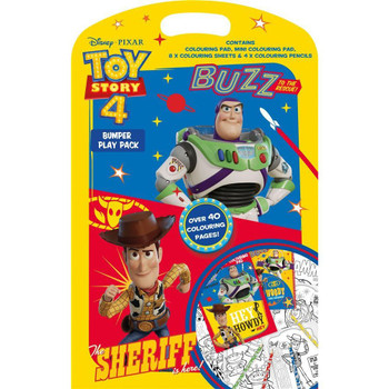 Toy Story 4 Bumper Play Pack