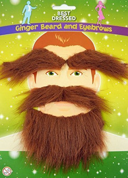 Best Dressed Ginger Beard & Eyebrows