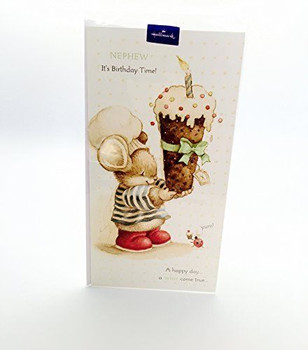 Cute Chef Animal Design Nephew Happy Birthday Greeting Card, By Hallmark