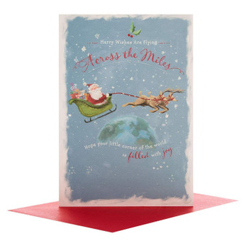 Across the Miles Christmas Card 'Filled With Joy'