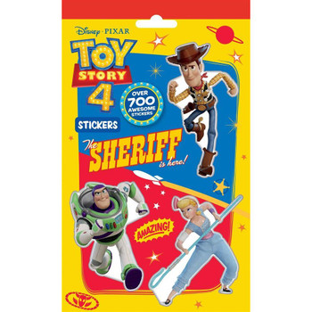 700 Stickers of Toy Story 4