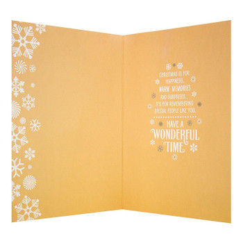 """Wonderful Time"" Christmas Card"