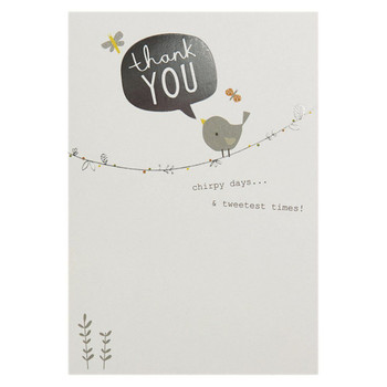 Hallmark Baby Thank You Cards Invite card and Envelope