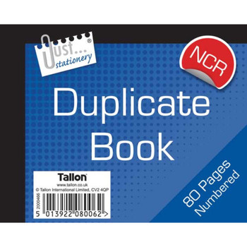 """Duplicate Book No Carbon Required 5x4"""""""