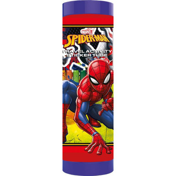 Spiderman Travel Act Sticker Tube