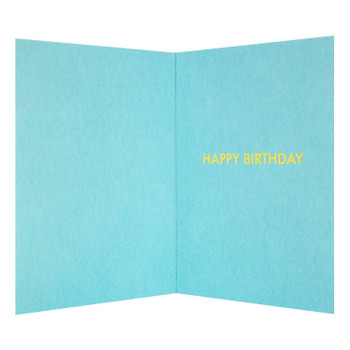 """Grandson Birthday Card """"Top Grandson"""" with Foil Finish"""