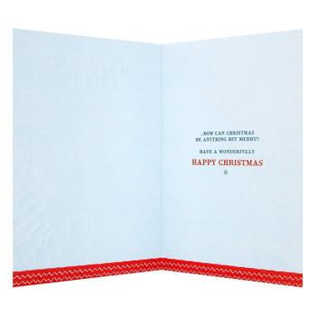 Festively Fabulous Friend Christmas Card