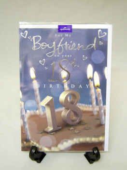 Hallmark 18th Boyfriend Birthday Card.