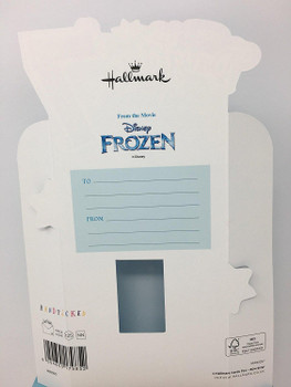Age 7 Daughter Frozen Stand Up Birthday Card