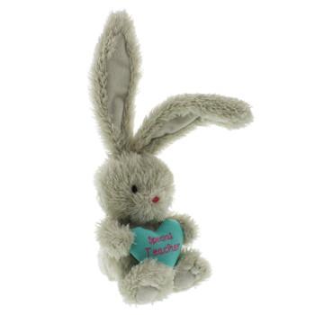 "Bebunni Rabbit Small with Heart 5""- Special Teacher"