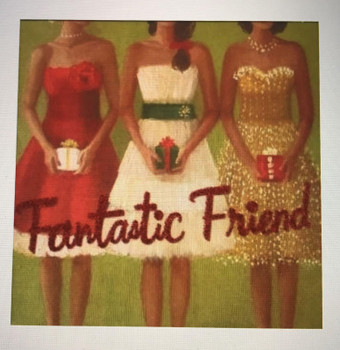 Fantastic Friend Hallmark Christmas Card