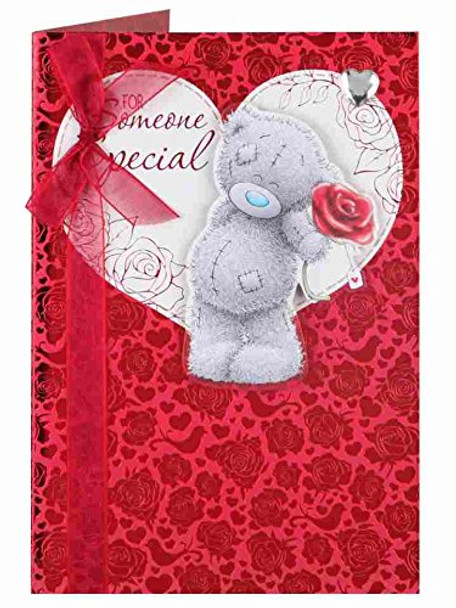 Someone Special Me to You Bear Handmade Valentines Day Card