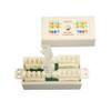 """ADAPTER, CAT6 ITOOLESS NLINE UTP 110IDC CONJUNCTION BOX, WHITE"" (NCB-6018)"
